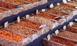 Market Stall Royalty Free Stock Photo