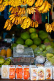 Market stall Stock Photo