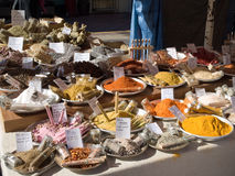 Market stall Royalty Free Stock Photos