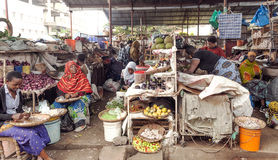 Market Stall in Arusha Stock Image