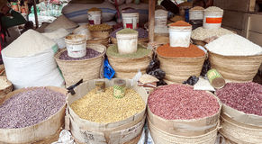 Market Stall in Arusha Stock Photo