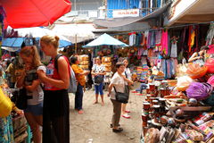 Market stall in Bali Royalty Free Stock Photos