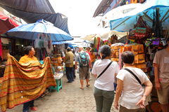 Market stall in Bali Royalty Free Stock Photo
