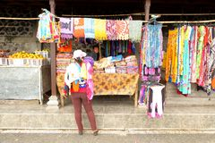 Market stall in Bali Stock Images