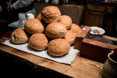 Market stall bread Stock Image