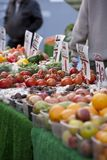 Market Stall in Cotswold Town Royalty Free Stock Image