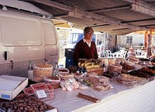 Market Stall, Cyprus. Stock Photos