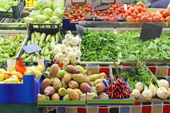 Market stall detail Royalty Free Stock Images