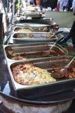 Market stall food Stock Photo