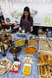 Market Stall at Food Festival Royalty Free Stock Images