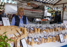 Market Stall at Food Festival Royalty Free Stock Photos