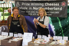 Market Stall at Food Festival Stock Photography