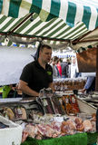 Market Stall at Food Festival Stock Images