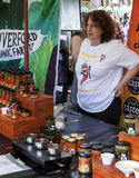 Market Stall at Food Festival Royalty Free Stock Image