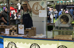 Market Stall at Food Festival Royalty Free Stock Photo