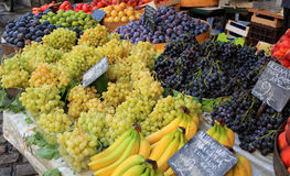 Market stall fruit Royalty Free Stock Photos