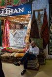 Market stall at Grand Bazaar Stock Photo