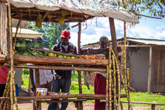 Market stall in Kenya Stock Photography