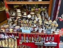 Tibetan market souvenirs Lhasa royalty free stock images