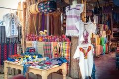 Market stall in San Pedro La Laguna, Guatemala Stock Photos