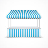 Market stall. Vector Stock Photos