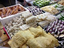 Free Market Stalls In Singapore China Town Royalty Free Stock Images - 53598589