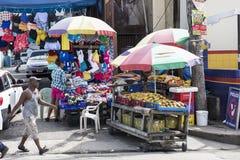 Market stalls in Jamaica Stock Photos