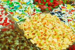 Market stand of candies Royalty Free Stock Photography