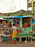 Market stand in the Caribbean Royalty Free Stock Image