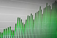 Market stats on computer screen. Finance data on computer screen. Stock market on-line Royalty Free Stock Photo