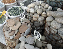 Market of stones Royalty Free Stock Photo