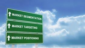 Market strategy Royalty Free Stock Photo