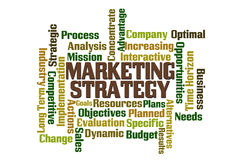 Market Strategy Royalty Free Stock Images