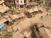 Market on a street. A market on a street Stock Photos