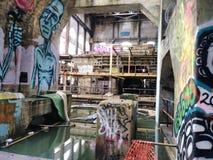 Market Street abandoned Power Plant New Orleans stock photo