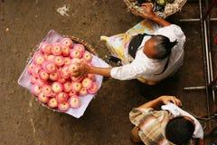 Market on the street Stock Photo