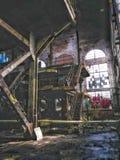 Market Street elektrownia Nowy Orlean porzucał 40 rok fotografia royalty free