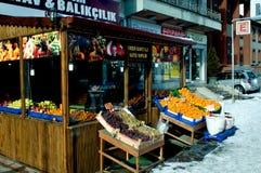 Market Street Kastamonu Royalty Free Stock Images