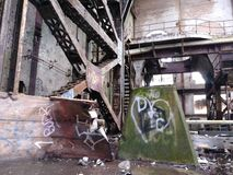 Market Street New Orleans abandoned power plant once energy source for entire city stock photo