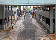 Market Street at Numazu Port Royalty Free Stock Image
