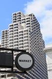 Market Street in San Francisco Royalty Free Stock Photos
