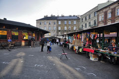 Market in the streets Royalty Free Stock Images