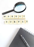 Market survey concept Royalty Free Stock Photo