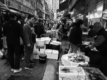 Market. Taken in Hong Kong stock photo