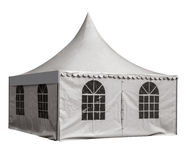 Market tent isolated Royalty Free Stock Photography
