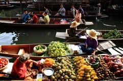 Market.thailand de flottement photographie stock libre de droits