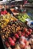 Market.thailand di galleggiamento Fotografia Stock