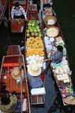 Market.thailand flotante Fotografía de archivo libre de regalías