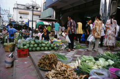 Market in Thailand. Royalty Free Stock Photography
