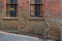 The Market Theater Gum Wall Stock Photography